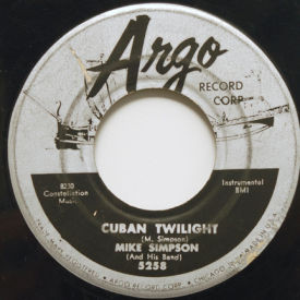 Mike Simpson - Cuban Twilight/Argo Rock