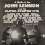 Now Sound Orchestra - A Salute To John Lennon & The Beatles Greatest