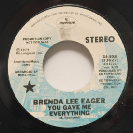 Brenda Lee Eager You Gave Me Everything When Im With You