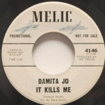 Damita Jo - It Kills Me/Molly Dear Malone