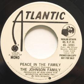 Johnson Family - Peace In The Family