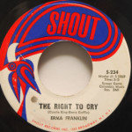 Erma Franklin - I'm Just Not Ready For Love/The Right To Cry