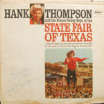 Hank Thompson - State Fair Of Texas - AUTOGRAPHED