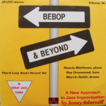 Ronnie Matthews/Ray Drummond/Marvin Smith - Bebop & Beyond