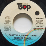 People's Choice - Party Is A Grovvy Thing
