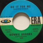Donnie Brooks - Do It For Me/Mission Bell