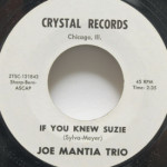 Joe Mantia Trio - If You Knew Suzie