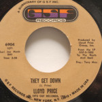 Lloyd Price - They Get Down/Trying To Slip (Away)