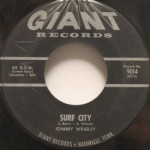 Johnny Wrigley/Mary Merry - Surf City/Easier Said Than Done