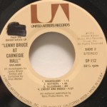 Lenny Bruce - Lenny Bruce At Carnegie Hall