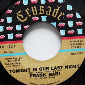 Frank Gari - Tonight Is Our Last Night