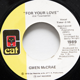 Gwen McCrae - Your Love/For Your Love