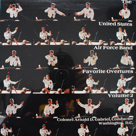 United States Air Force Band - Favorite Overtures Volume 2 (sealed)