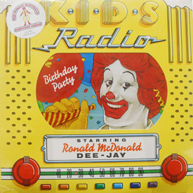 Ronald McDonald - K.I.D.S. Radio: Birthday Party (sealed)