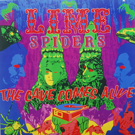 Lime Spiders - The Cave Comes Alive!