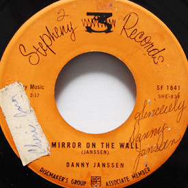 Danny Janssen - Mirror On The Wall (autographed)