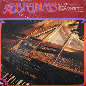 Lincoln Mayorga - Brahms Variations And Fugue On A Theme By Handel (sealed)