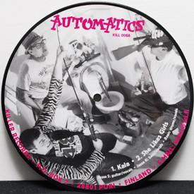 Automatics - Kala/She Likes Girls/Fortune Teller/Beeb Beep/Plaid Miniskirt (picture disc)