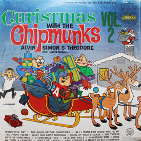 Chipmunks - Christmas With The Chipmunks Vol. 2