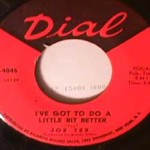 Joe Tex - What in the World/ I've Got to do a Little
