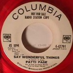 Patti Page - Say Wonderful Things LP