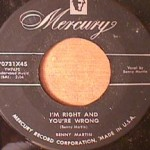 Benny Martin - I'm Right and Your Wrong/ Yes, It's True