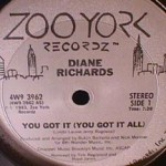 Diane Richards - You Got It