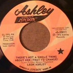 Leon Ashley - There's Not a Single Thing About Her