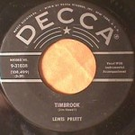 Lewis Pruit - Timbrook/ Fool of Me