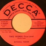 Mitchell Torok - Two Words/ You're Tempting Me