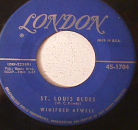 Winifred Atwell St Louis Blues Hamp S Boogie 7 Quot Vinyl