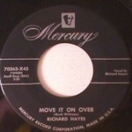 Richard Hayes - Continental/ Move it on Over