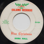 Dora Hall - Blue Christmas/Rockin' Around The Christmas Tree