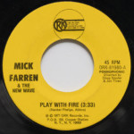 Mick Farren And The New Wave - Play With Fire