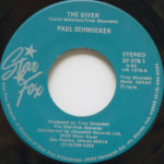 Paul Schmucker - The Giver/You Never Gave Me You