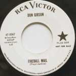 Don Gibson - Fireball Mail/Oh Such A Stranger