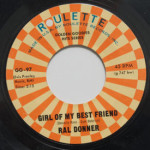 Ral Donner - Girl Of My Best Friend/To Love Someone