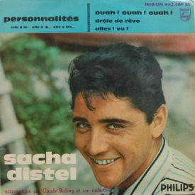 sacha distel personnalites ep vinyl philips cheap kiss records. Black Bedroom Furniture Sets. Home Design Ideas