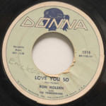 Ron Holden - Love You So