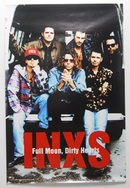 INXS - Full Moon, Dirty Hearts (Poster)