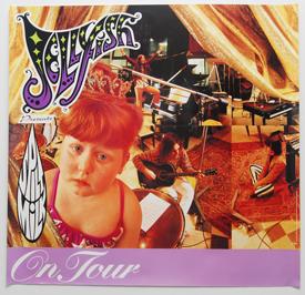 Jellyfish - Spilt Milk Tour Poster