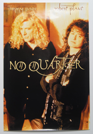 Robert Plant and Jimmy Page - No Quarter (Poster)
