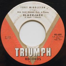 Tony Middleton - Blackjack/The Universe