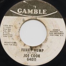 Joe Cook - Funky Hump/America Don't Turn Your Back