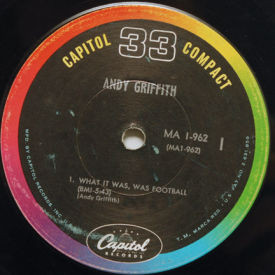 Andy Griffith - What It Was, Was Football