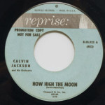 Calvin Jackson - How High The Moon/Moon River