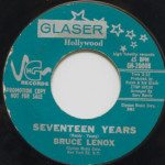 Bruce Lenox - Youthful Desire/Seventeen Years