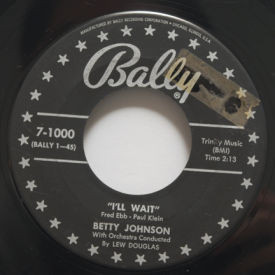 Betty Johnson - I'll Wait/Please Tell Me Why