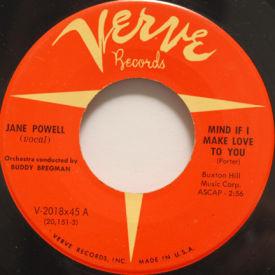 Jane Powell - Mind If I Make Love To You/True Love