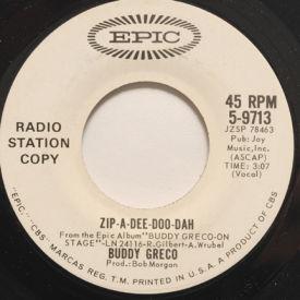 Buddy Greco - Zip-A-Dee-Doo-Dah